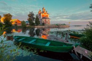 Переславль, озеро, лодка