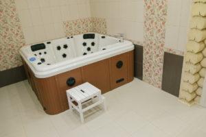 Сауна, гидромассажная ванна