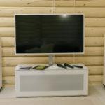 Большой телевизор в бане