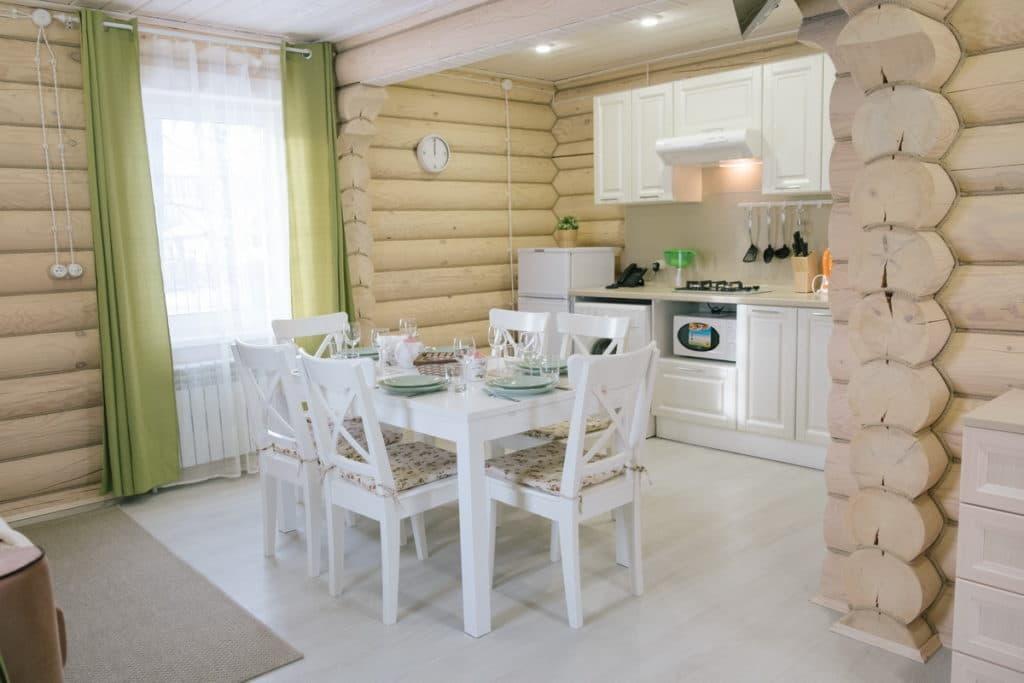 Наши апартаменты, кухня